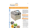 Freezer/Mill - Model 6875D - Dual Chamber Cryogenic Grinder Brochure