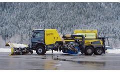 Jetbroom - Multifunctional High-Performance Sweeper-Blower Clearing System