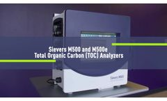 Introducing the Sievers M500 Online TOC Analzyer - Video