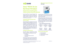 SUEZ - Model M5310 C - Sievers On-line TOC Analyzer Brochure
