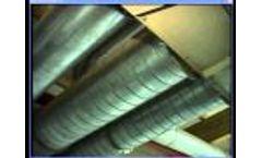 2 shaft shredder from Valvan Baling Systems - Video