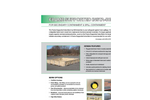 Frame Supported Berm Brochure (Includes List Of Standard Sizes)