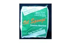 Model KI-OSPR - Oil Sponge Remedial Premium Absorbent