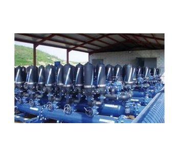 Water filtration solutions for irrigation sector - Agriculture - Irrigation