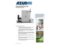 Azud Watertech - Model GW - Grey Water Recycling Plant Brochure
