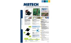 MBTECH - Pressure-Compensating and No-Drain Drippers - Brochure