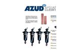 AZUD SPIRAL CLEAN Screen Semiautomatic Filters - Brochure