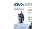 AZUD LUXON LCA Automatic Screen Filters - Brochure