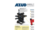 AZUD HELIX 4DCL Automatic Disc Filters - Brochure