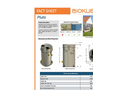 Biokube - Model Pluto - Packaged Wastewater Treatment Plants - Brochure