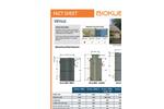 BioKube - Model Venus Series - Packaged Wastewater Treatment Plants - FactSheet