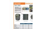 BioKube - Model Mars 3000 - Packaged Wastewater Treatment Plants - Datasheet