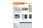 BioKube - Model Jupiter A.G. Series - Decentral Wastewater Treatment Plants - Datasheet