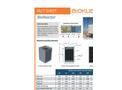 BioKube BioReactor - Model 50 to XL - Decentral Wastewater Treatment Plants - Datasheet
