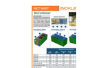 BioContainer - Containerized Sewage Wastewater Treatment Plant - Brochure