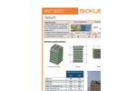 BioKube - Model Saturn - Decentral Wastewater Treatment Plant - Dataheet