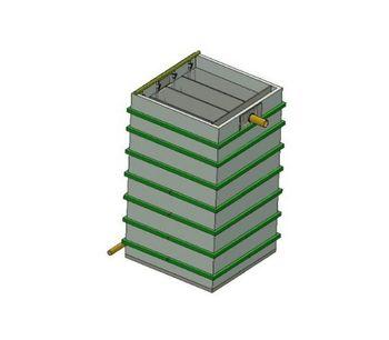 BioKube - Model Saturn 200 - Decentral Wastewater Treatment Plants