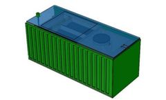 BioContainer - Model Combi EB - Containerized Sewage Wastewater Treatment Plant