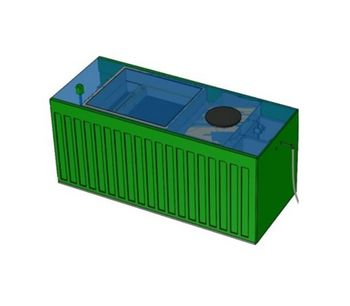 BioContainer - Model Combi IB - Containerized Sewage Wastewater Treatment Plant