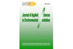 Journal of Applied Sciences in Environmental Sanitation