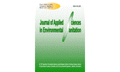 Journal of Applied Sciences in Environmental Sanitation