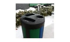 Model Toronto Series - Recycling Waste Bin