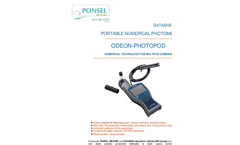 PHOTOPOD - Numerical Photometer Brochure