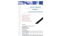 RS 485/SDI 12 - Digital Turbidity Sensor Data Sheet