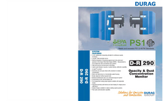 C.E.M. - Model D-R 290 - Opacity and Particulate Monitors - Brochure