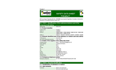 Filtralite P Safety Data Sheet