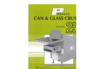 Can And Glass Crusher Model 250 Brochure