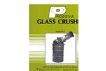 Glass Crusher Model 95-2 Brochure