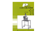 Can Crusher Model 108 Brochure