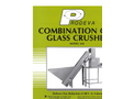 Combination Can Glass Crusher Model 160 Brochure
