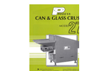 Can And Glass Crusher Model 270 Brochure