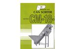 Can Sorter Model CM-18-10 Brochure