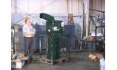 Prodeva, Inc. Model 151 #10 Steel Can Crusher Video