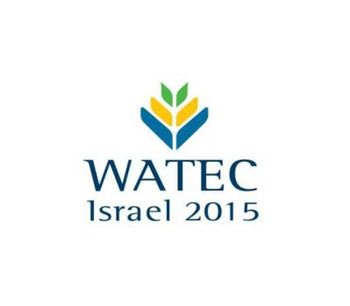 Watec Israel 2015 - Water Technology Exhibition and Conference
