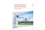 Sample Collection and  Analysis of Carbonyls: Improve Detection of Trace Level  Contaminants in Air
