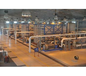 Desalination -Membrane Seawater Reverse Osmosis (SWRO) - Water and Wastewater - Water Treatment