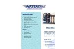 Aquatech Watertrak - Ultrafiltration Systems Brochure