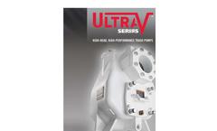 Ultra - Model V Series - Self Priming Pumps Brochure