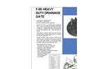 Model F-55 - Heavy Duty Flap Gates Brochure