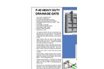 Model F-40 - Heavy Duty Flap Gates Brochure
