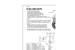 Model H-30 - Cast Iron Line Gates Brochure