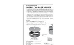 Overflow Riser Valves Brochure