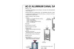 AWWA - Model C562 - Aluminum Slide Gates Brochure