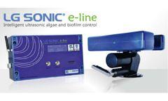 Advanced ultrasonic algae control