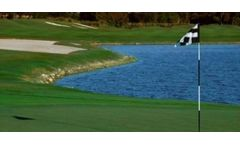 Algae control in golf course ponds