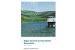 Algae Control in Raw Water Reservoirs brochure